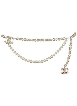 Chanel Pearl Belt Jewelry