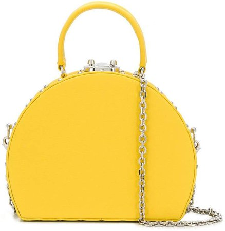Luis Negri half-moon box bag