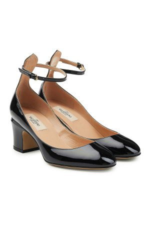 Patent Leather Tan-Go Pumps Gr. IT 38.5