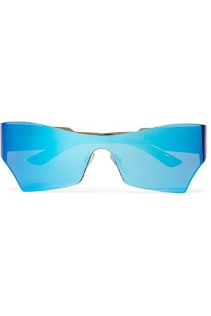 Balenciaga   Cat-eye acetate mirrored sunglasses   NET-A-PORTER.COM
