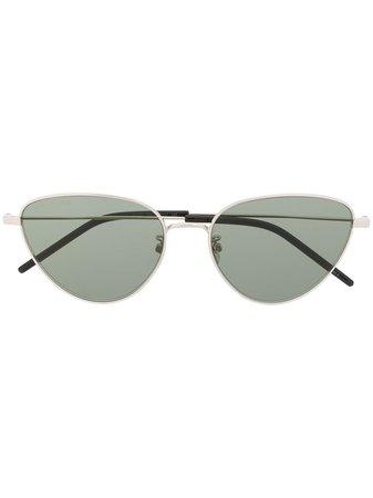 Saint Laurent Eyewear Cat Eye Sunglasses Ss20 | Farfetch.com