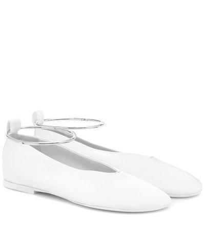 Leather Ballet Flats | COLOVOS - Mytheresa
