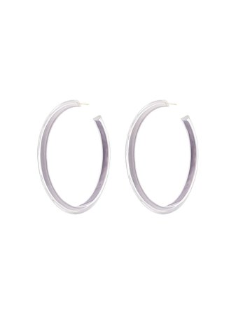Alison Lou Large Jelly Hoop Earrings Continuity | Farfetch.com