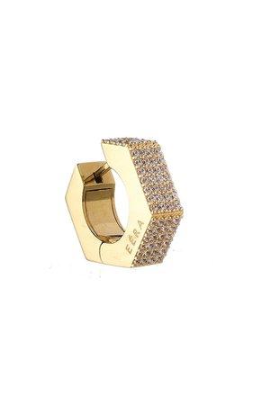 18k Yellow Gold Dado Earring By Eéra | Moda Operandi