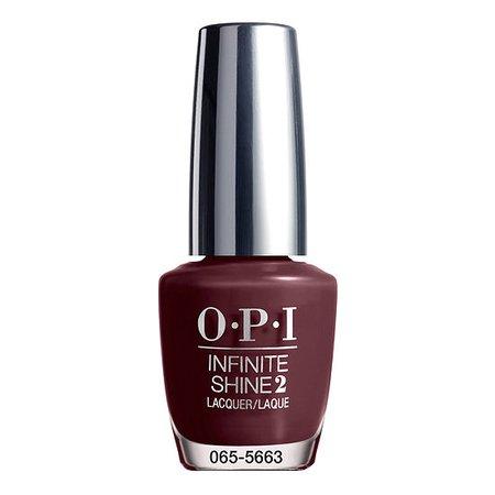 OPI Stick To Your Burgundies Infinite Shine Nail Polish - .5 oz., Color: Deep Burgundy - JCPenney
