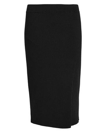 Jonathan Simkhai - Deep Rib Wrap Skirt