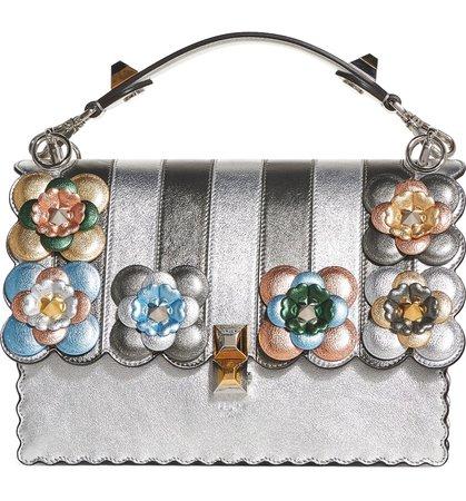 Fendi Kan I Leather Shoulder Bag | Nordstrom