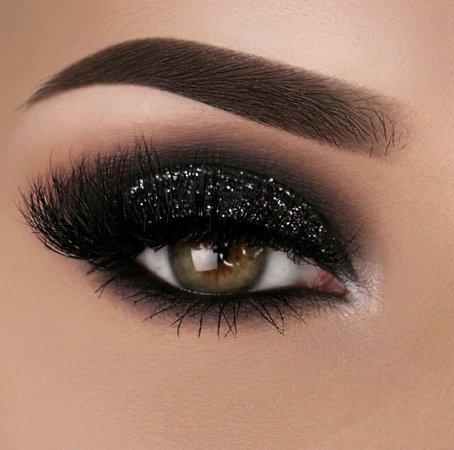 sparkle makeup black - Google Search