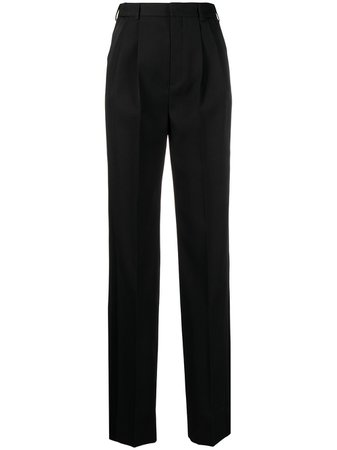 Saint Laurent high-waisted Tailored Trousers - Farfetch
