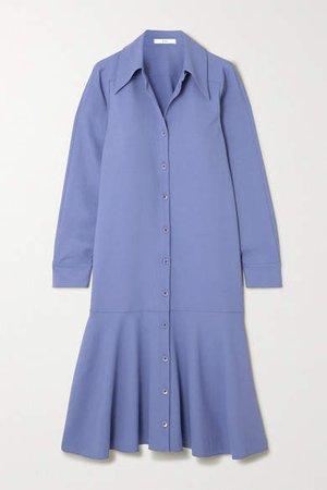 Jersey Midi Dress - Blue