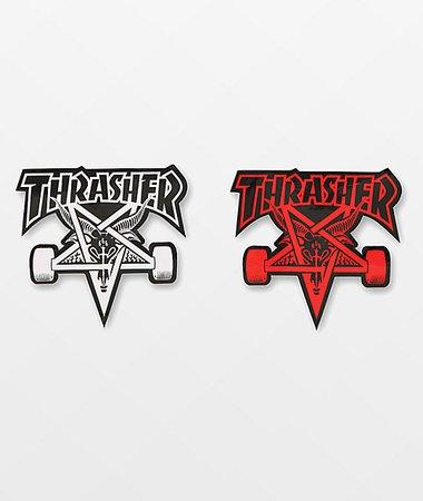 Thrasher Skategoat Sticker | Zumiez