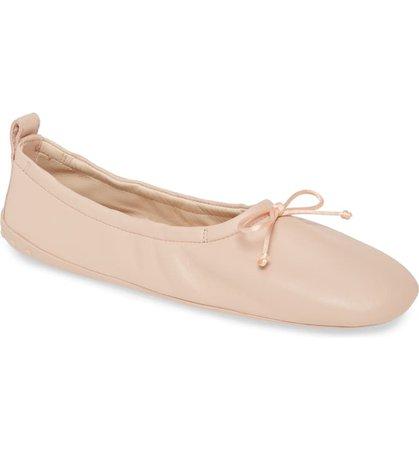 Tod's Scrunch Ballet Flat (Women)   Nordstrom