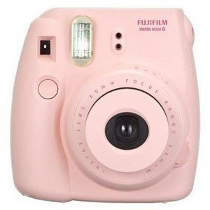Fujifilm instax mini 8 Instant Film Camera Pink - Polyvore