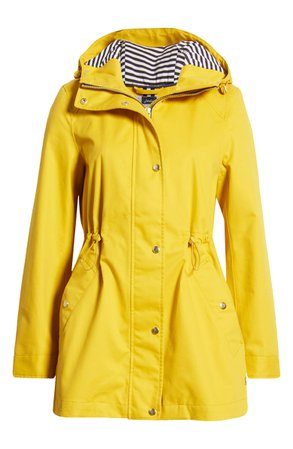 Joules Shoreside Waterproof Hooded Raincoat | Nordstrom