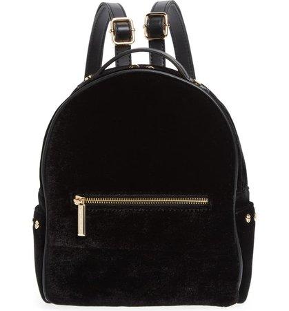 Mali + Lili Marlee Velvet Backpack | Nordstrom