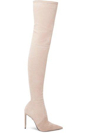 TOM FORD | Stretch-suede over-the-knee boots | NET-A-PORTER.COM