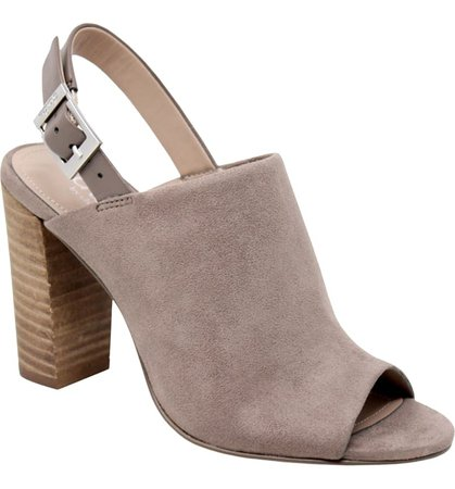 Charles by Charles David Slingback Block Heel Sandal (Women) | Nordstrom