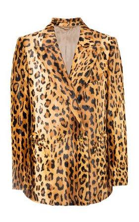Be Fear Everynight Printed Velvet Blazer By Blazé Milano | Moda Operandi
