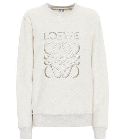 Cotton Logo Sweatshirt | Loewe - Mytheresa