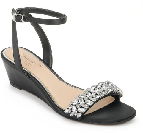 Bellevue Ankle Strap Wedge Sandal