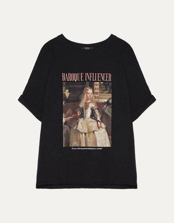 Las Meninas print T-shirt - Best Sellers - Bershka United States