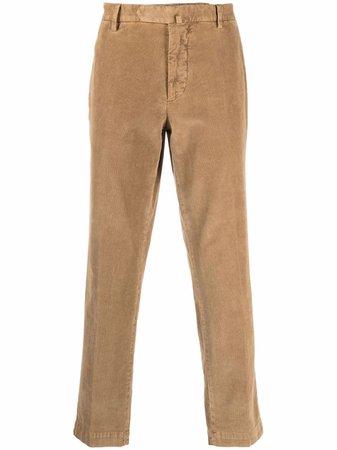 Dell'oglio corduroy straight-leg trousers - FARFETCH