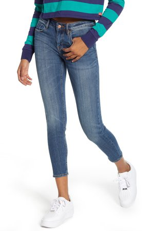 Jagger Crop Skinny Jeans