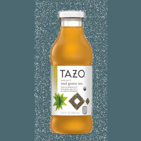 Organic Iced Green Tea Bottle   TAZO® Tea