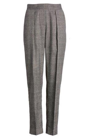 Anne Klein Plaid Straight Leg Pants   Nordstrom
