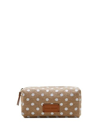 Violeta BY MANGO Polka-dot print cosmetic bar