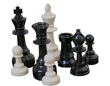 black white png filler chess pieces