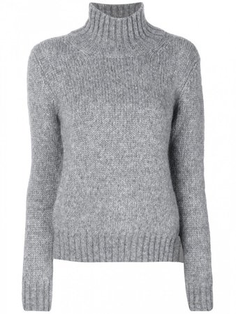 grey-dondup-turtleneck-sweater-with-bow