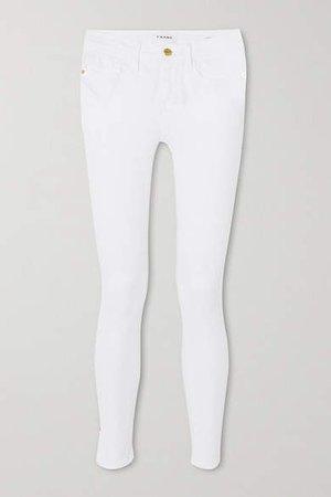 Le Skinny De Jeanne High-rise Jeans - White