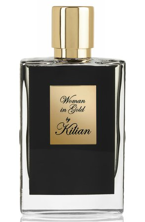 Kilian Woman in Gold Collectors Edition Refillable Perfume Spray | Nordstrom