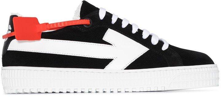 Arrows logo low-top sneakers
