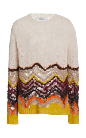 Felipe Cashmere-Silk Knit Sweater By Gabriela Hearst | Moda Operandi