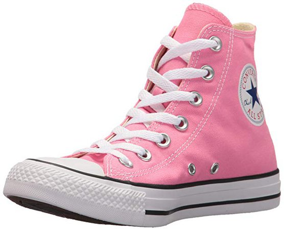 Amazon.com | Converse Clothing & Apparel Chuck Taylor All Star High Top Sneaker, Pink, 11.5 Women / 9.5 M US Men | Fashion Sneakers