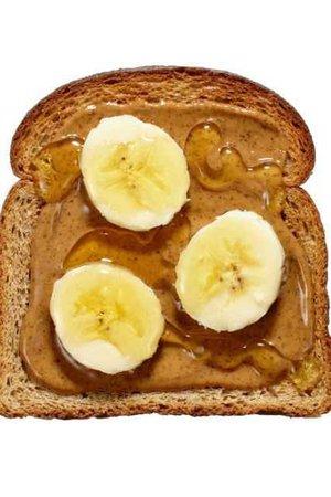 Nut butter & fruit toast