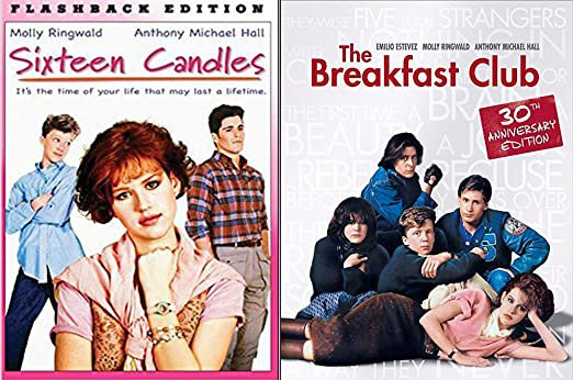 Amazon.com: Sixteen Candles & The Breakfast Club... Flashback Fun Comedy 80's High School Teen movie Set Molly Ringwald Double Feature: Molly Ringwald, Anthony Michael Hall, Patrick Dempsey, John Hughes: Movies & TV