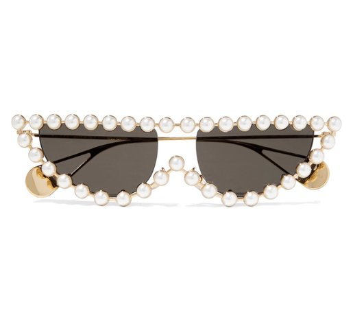pearl rimmed sunglasses
