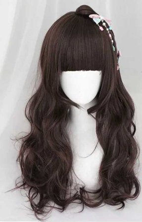 Brown Wig Taobao