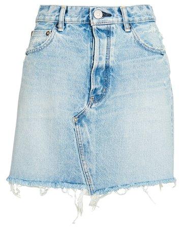 MOUSSY VINTAGE Wellington Denim Skirt | INTERMIX®