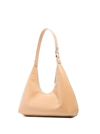 BY FAR Amber patent-leather Shoulder Bag - Farfetch