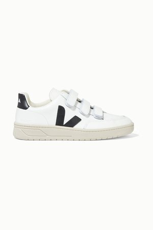 White + NET SUSTAIN V-Lock leather sneakers | Veja | NET-A-PORTER