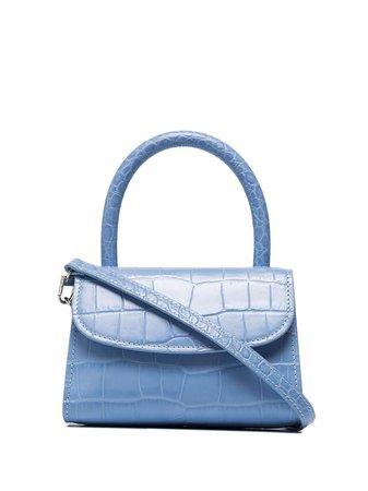BY FAR crocodile-effect Mini Shoulder Bag - Farfetch