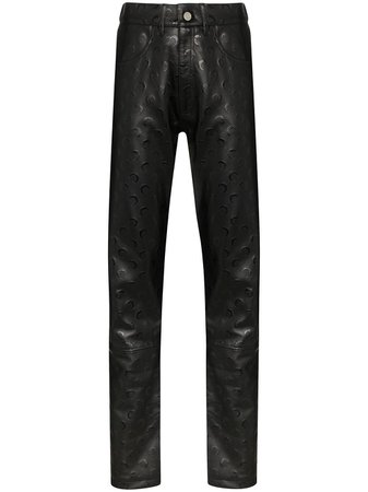 Marine Serre Moon Print Trousers - Farfetch