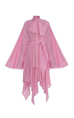 Lado Bokuchava Belted Draped Dress
