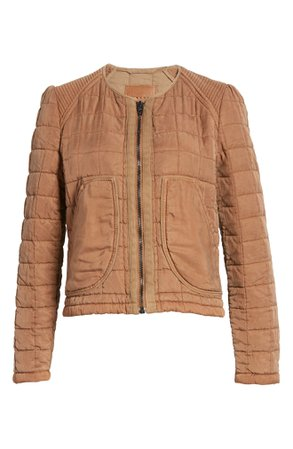 BLANKNYC Collarless Quilted Jacket | Nordstrom