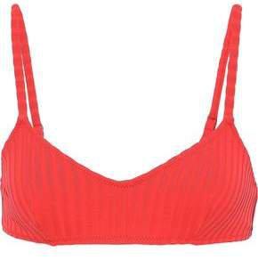 The Rachel Ribbed Bikini Top