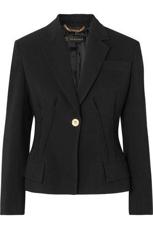 Versace | Blazer en cady | NET-A-PORTER.COM